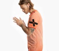 Herren Print T-Shirt Damba orange (vintage sunset orange)
