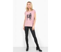 Print Shirt Eagle Eye WSN pink