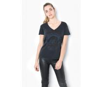 Print T-Shirt Toxic Tigers WSN schwarz