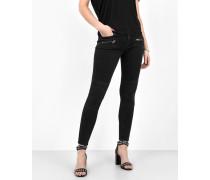 Jeans Noomi 7011 stone wash schwarz