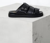 Sandale Sparta Croc schwarz