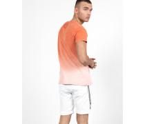 Herren T-Shirt Mika mehrfarbig (blood orange/faded pink)