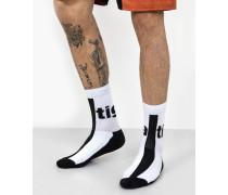 Socken Riaz weiß
