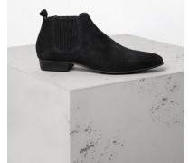 Schuhe Zelus Suede schwarz