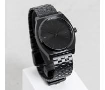 Uhr Time Teller schwarz