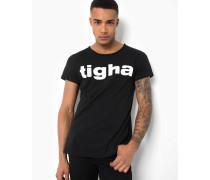 Print T-Shirt Logo MSN schwarz