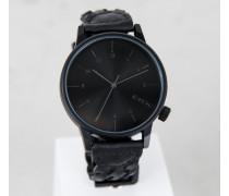Uhr Winston Woven schwarz