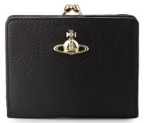 Balmoral Wallet with Frame Pocket Black