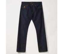 Classic Tapered Jeans Blue Denim