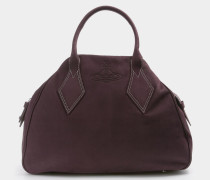 Large Yasmine Bag Burgundy
