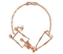 Skeleton Bracelet Rose Gold