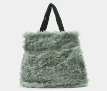 Teddy Tote Bag Green