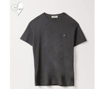 Boxy T-Shirt Grey Melange