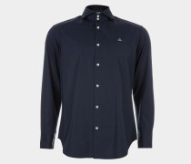Two Button Cutaway Blue Navy