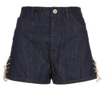 Heart Shorts Blue Denim