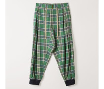 Sport Macca Pants Green Check