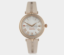 Farringdon Watch Light Pink/Rose Gold