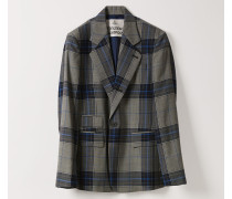 Classic Jacket Prince Of Wales Check Blue