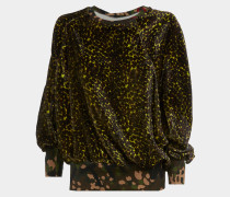 Ela Sweatshirt Leopard Print