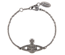 Mini Bas Relief Bracelet Black Diamond