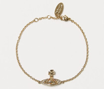 Pina Bas Relief Bracelet Gold Tone