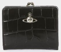 Lisa Wallet With Frame Pocket Black