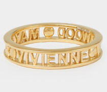 Sterling Silver Westminster Ring Gold