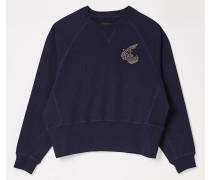 Athletic Sweatshirt Blue