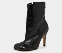Winter Cuff Boot Black Leather