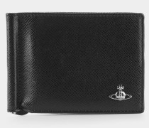 Kent Wallet with Clip Black