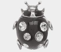 Ladybird Single Stud Earring Black