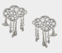 Shira Earrings Silver Tone