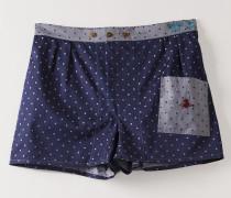 We Boxer Shorts Navy/Silver Dots
