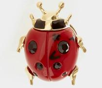 Ladybird Clutch Pin Gold Plated