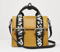 Alex Medium Handbag Yellow/Graffiti