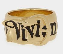 Gold Belt Ring