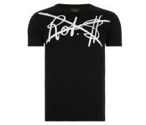 Classic T-Shirt Rot$ Print Black