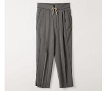 Laurent Trousers Grey/Black Stripes