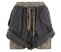 Cannone Shorts Green Check