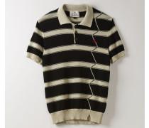 New Polo Knit Shirt Natural/Black