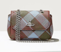 Derby Small Purse With Chain Vivienne's Tartan