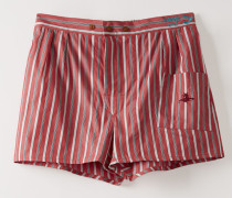 We Boxer Shorts Red/Blue Stripes