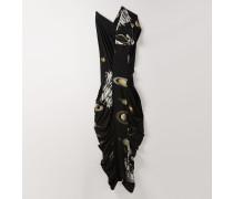 Long Perrin Dress Saturn Print