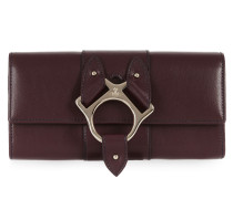 Folly Long Wallet with Flap 51090011 Burgundy