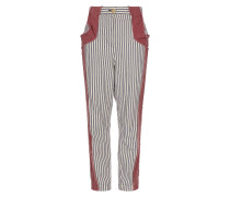 Ticking Melo Trousers Navy/Cream