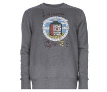 Roundneck Sweater Grey Melange