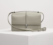 Sofia Small Crossbody With Flap Taupe