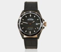 Black Spitalfields Watch