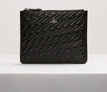 Coventry Quilted Pouch Black