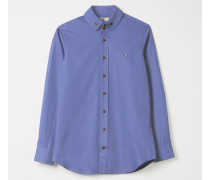 Two Button Krall Shirt Sky